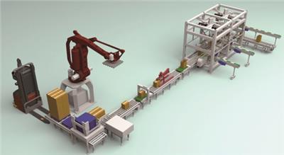 供應智能機械手碼垛機組及搬運機器人碼垛機