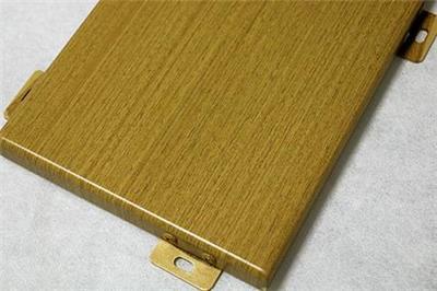 南雄大型的木紋鋁天花設計