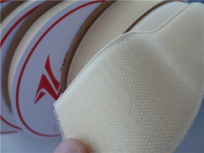 耐热260度防火阻燃PPS魔术贴粘扣带刺毛魔鬼贴搭扣用于高温紧固件捆绑带