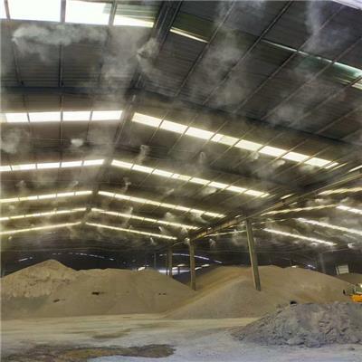 煙臺水泥廠高壓微霧降塵設計