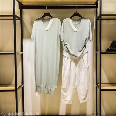 薇可蔻折扣女装一手货源找广州衣琳服饰