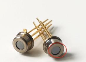 廠家生產熱電堆傳感器TO46管帽加5.5um紅外濾光片