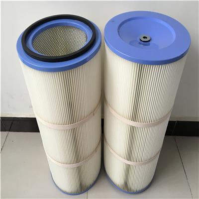 工廠供應350*660耐高溫阻燃除塵濾筒 ****聚酯纖維除塵濾芯