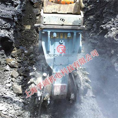 ROCKWHEEL銑挖機 掘進工程銑挖頭 渠道溝槽銑刨挖機 巖石凍土銑挖機 露天地下礦銑挖機