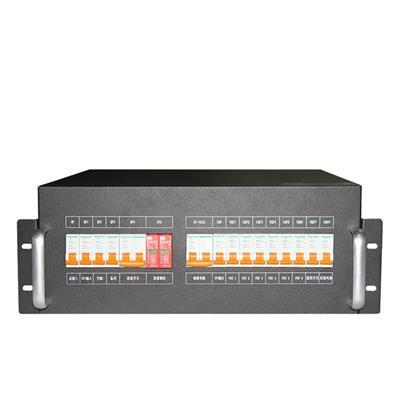 4U機架式配電盤 配電單元 配電模塊
