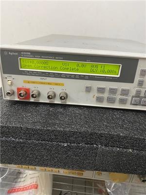 白外殼4349B-keysight4通道電阻表多臺