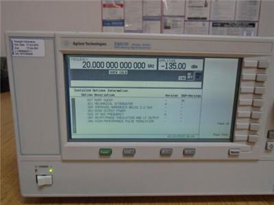 關于高頻達到20G/67G信號發生器E8257D漢潤促銷中