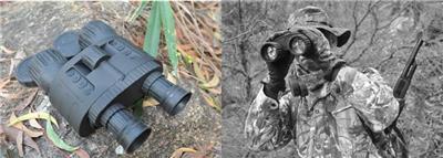 便攜式雙目紅外夜視儀 智能高清七合一便攜式雙筒遠距離紅外夜視