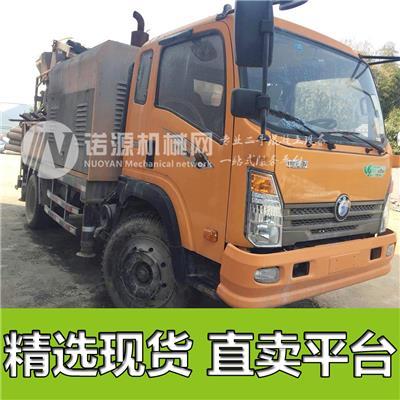 拓沃C9小型混凝土攪拌泵車轉讓  保山混凝土攪拌泵車價格