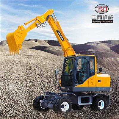 茂名輪胎挖掘機價格 輪式挖掘機