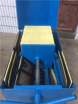 板框壓力式濾油機操作 重慶板框機