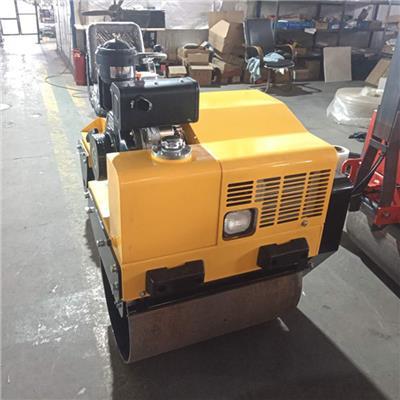 小型座駕式壓路機0.8噸1噸1噸半2噸3噸 雙鋼輪瀝青振動壓路機 草坪壓實機