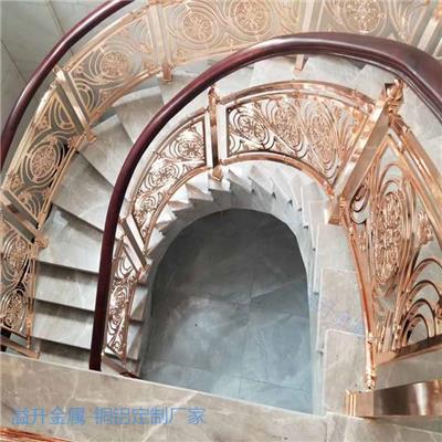 安陽簡歐別墅樓梯欄桿 古銅色樓梯護欄