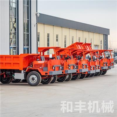 海西金礦12噸渦輪增壓后驅礦安車低煙尾氣礦車
