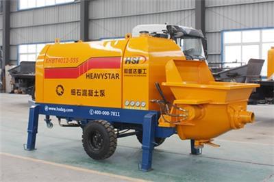 青島混凝土泵車細石泵40柴油泵