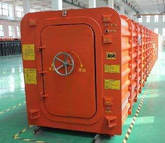 救生艙,礦井救生艙,密閉性救生艙