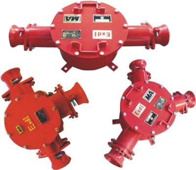礦用隔爆高壓電纜接線盒BHG2-400/10-2G 廠家**
