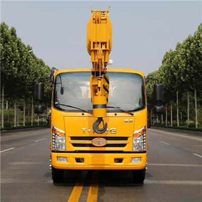 十二噸吊車配置 12噸小吊車價格 液壓雙節支腿 鋼板配重器 歡迎來電