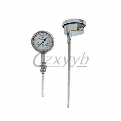 希雅儀表耐震壓力式溫度計WJYB-411抗震充油溫度表50-650度