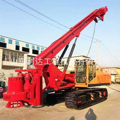 供應5180機鎖桿小型旋挖鉆機 基建工程打樁機 液壓增壓廠家價格型號