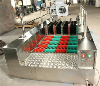 礦用雙通道洗靴機全自動紅外感應刷靴機