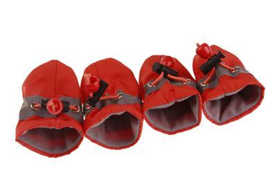 狗狗软鞋小狗鞋学步防滑宠物鞋套 雨鞋 宠物鞋脚套 一件代发