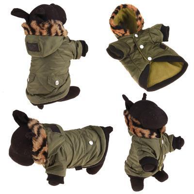 菱形格子狗衣服带帽子口袋装饰宠物衣服外贸款服装 挺好**