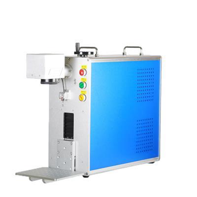光纖打標機鋁合金門窗激光刻字臺式激光刻字標刻設備壽命長免維護