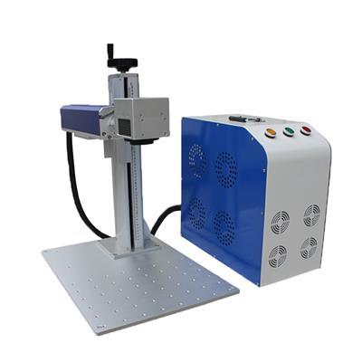光纖打標機鋁合金門窗激光刻字標刻英文字母字號可設置1mm