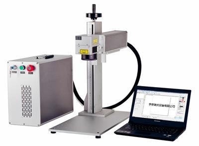 光纖打標機鋁合金門窗激光刻字移動式小型金屬標刻移動方便操作簡單