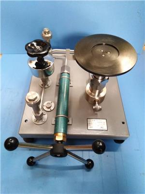 西安儀表廠西儀活塞壓力計YS-600可測1-60MPa