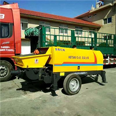 煙臺新賽機械制造有限公司 40混凝土輸送泵 高層建筑用混凝土泵 40拖泵 40地泵
