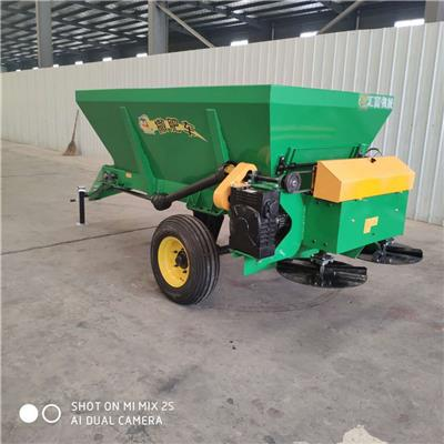 拖拉機牽引式撒糞 干濕兩用拋糞車匯富機械