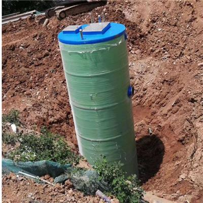 玻璃鋼泵站一體化污水提升泵站設備雨水收集排澇智能污水處理泵站