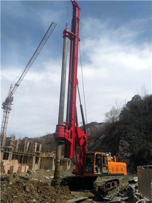 中小型旋挖鉆機LD-5180打樁機,樁工機械,180kn.m*大動力頭_履帶式旋挖鉆機,機鎖桿旋挖鉆機_可打風化巖