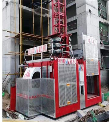 廣東茂名施工升降機施工電梯sc200/200物料提升機齒輪式施工升降機人貨兩用人貨電梯租賃