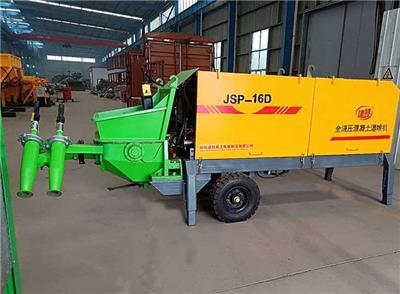 建特重工JTSP-16D雙噴頭濕噴機**速度快濕噴機廠家山西直營