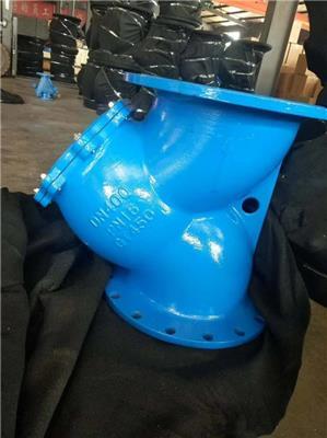 GL41H管道法蘭過濾器管道Y型過濾器-滄州利馳閥門