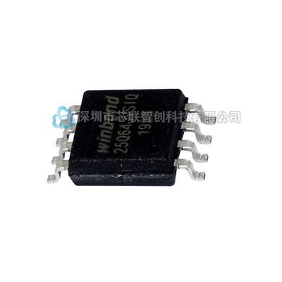 華邦W25Q64JVSSIQ SOIC-8 64Mbit SPI FLA...