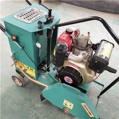 柴油馬路切割機 手扶式路面切 柴油動力 馬路切