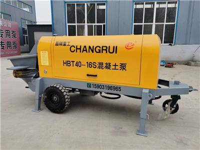 大顆粒細石混凝土輸送泵優勢條件