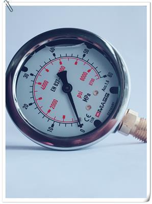 DMASS德瑪仕EN837-1抗震壓力表MBB系列油壓表