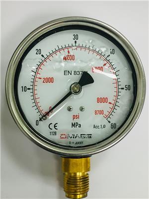 DMASS壓力表 油壓表 充液抗震 精密壓力表 指針壓力表 充液抗震壓力表