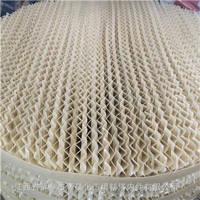 濕分解塔塑料規整填料250Y波紋板填料盤高200板厚1.2mm廠家**