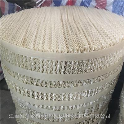 JKB350Y塑料孔板波紋填料PVDF材質板波紋規整填料聚偏氟乙烯波紋填料