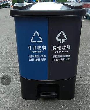 南昌園林垃圾桶 大白桶 **抗沖擊