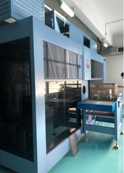 和科達HKD-1002VTGF單工位精密碳氫清洗機,去油污能力強,可滿足客戶*端金屬顆粒度要求