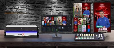 系統支持多通道錄制LiveMIX*融合機