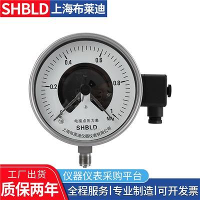布萊迪壓力表YXC-60ZT磁助電接點壓力表