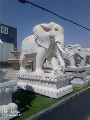 扬州动物石雕价格 大象动物石雕 批发厂家 「技术精湛」